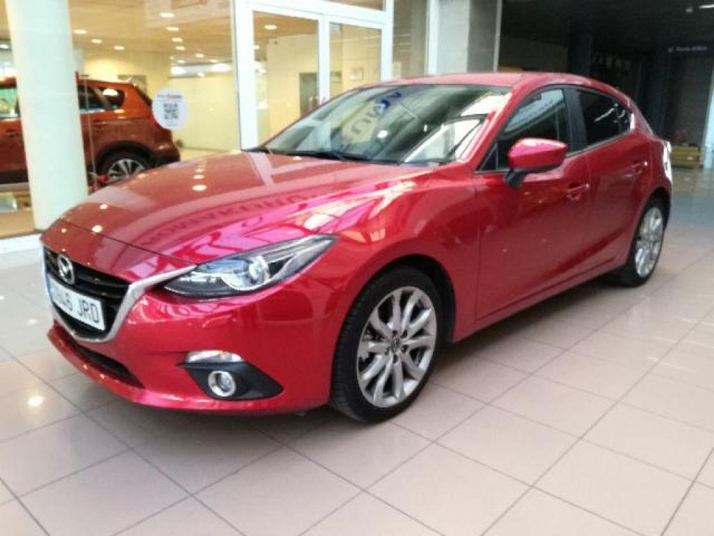 Mazda Mazda3 1.5 SKYACTIV-D 105 LUXURY SAFETY+PREMIUM 105 5P segunda mano Madrid