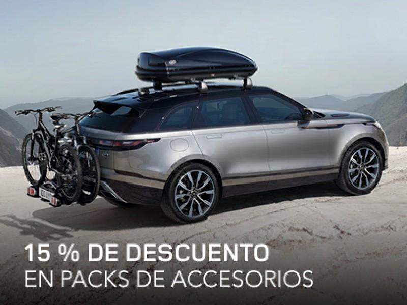 15 % DE DESCUENTO EN PACKS DE ACCESORIOS