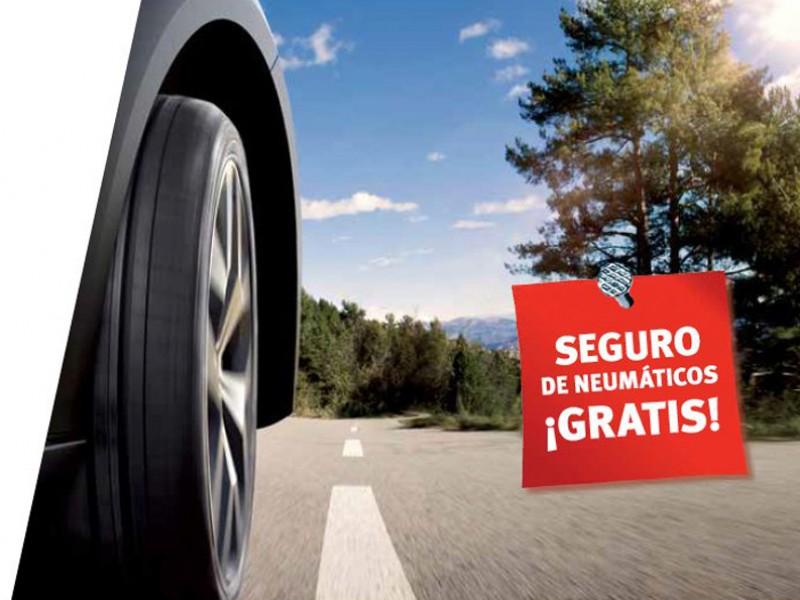 Cambio de neumáticos + seguro GRATUITO