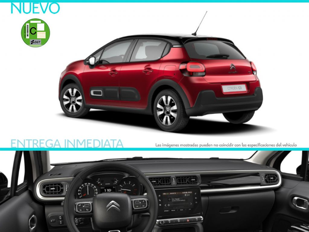 Citroen C3 PureTech 60KW (83CV) Feel Pack nuevo Madrid
