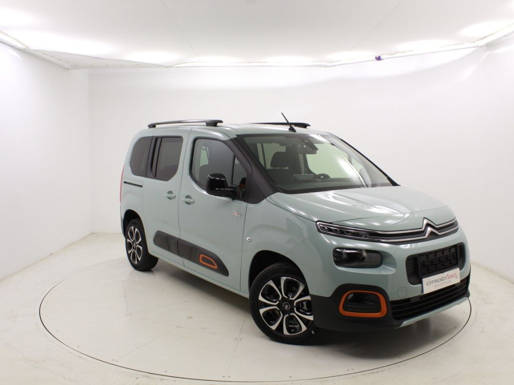 Citroen Berlingo Talla M BlueHDi 100 SHINE segunda mano Madrid