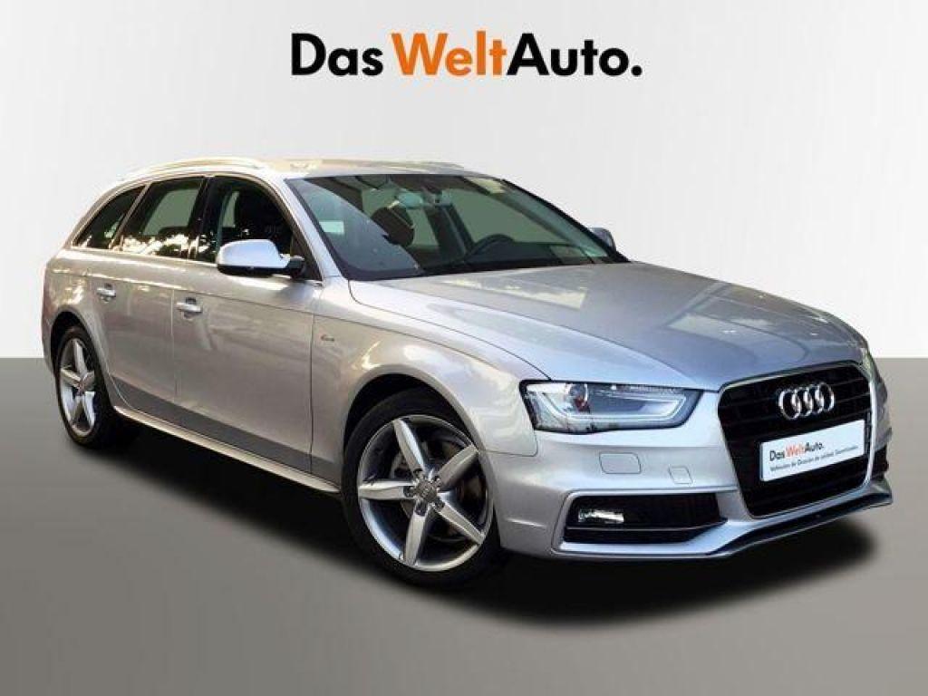 Audi A4 Avant 2.0 TDI clean 150CV multitr S line segunda mano Madrid