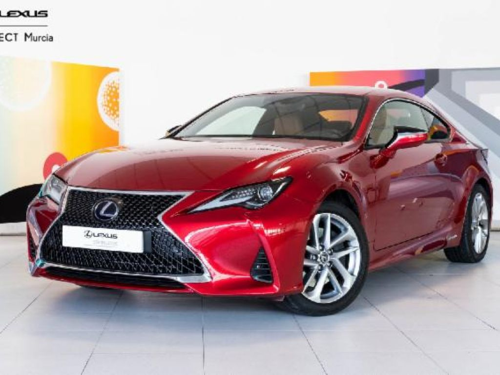 Lexus RC 2.5 300h Executive Navigation segunda mano Murcia