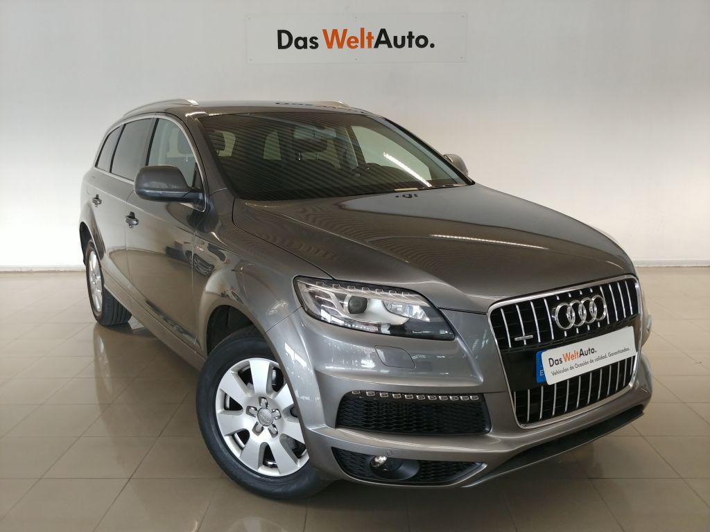 Audi Q7 3.0 TDI 204 quattro tip Advanced Edition segunda mano Madrid