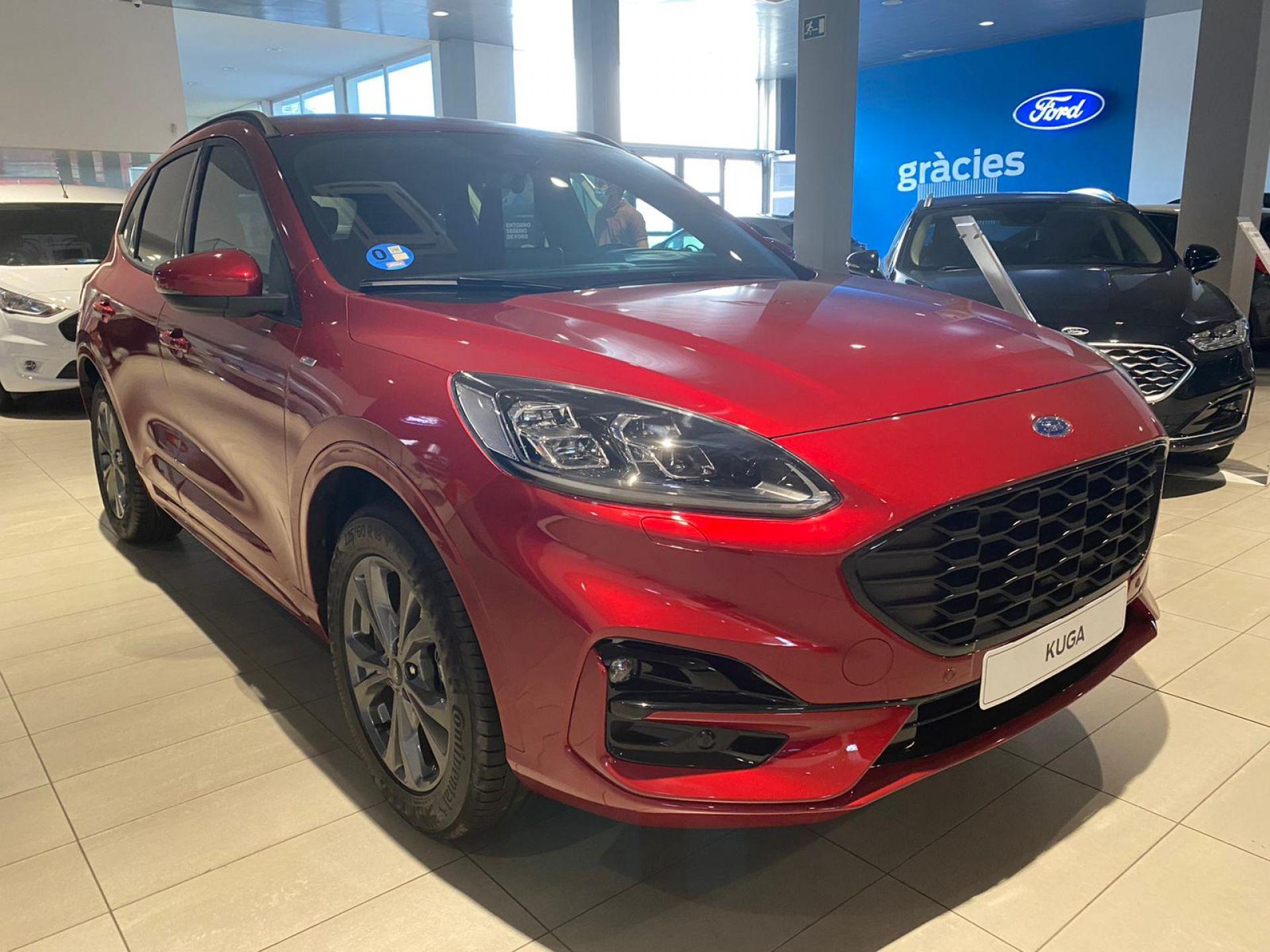 Ford Kuga ST-Line X 2.5 Duratec PHEV 165kW Auto 2020 8000 Rojo Lucid  (metalizada) de Ocasión (4086)