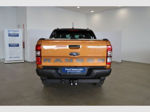Ford Ranger 2.0 TDCi 157kW 4x4 Dob Cab Wildtrack AT nuevo Zaragoza